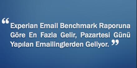 Emailing İçin En Doğru Gün: Pazartesi