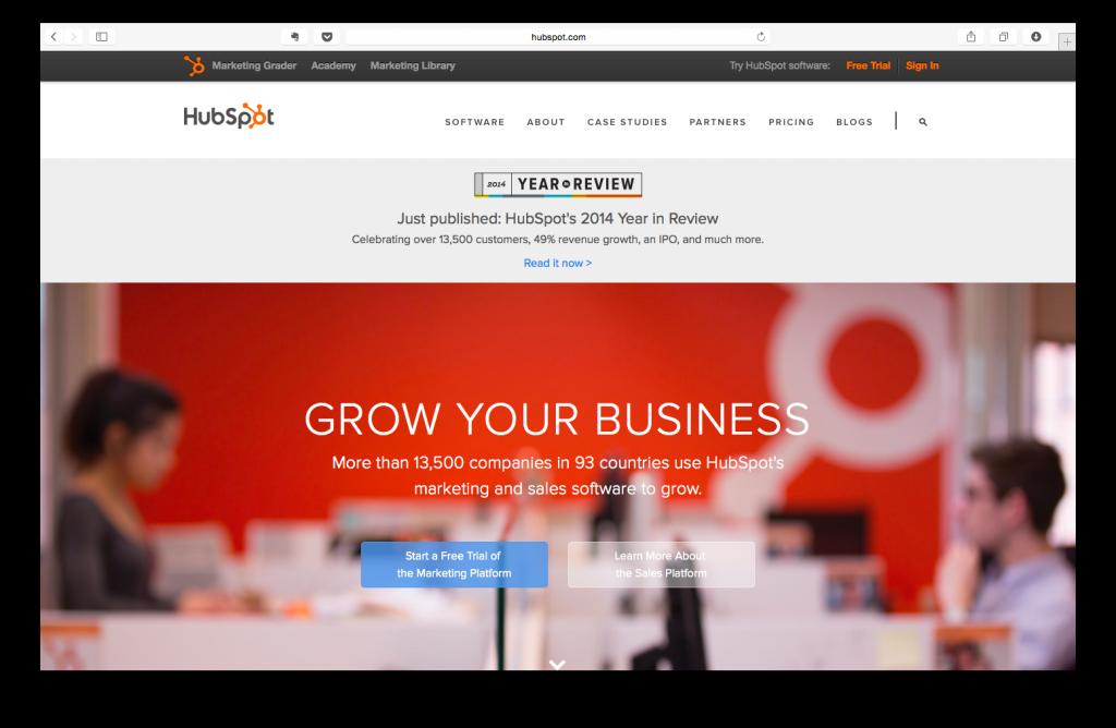 HubSpot Karşılama Sayfası