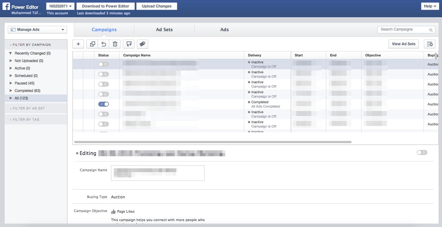 Facebook Power Editör