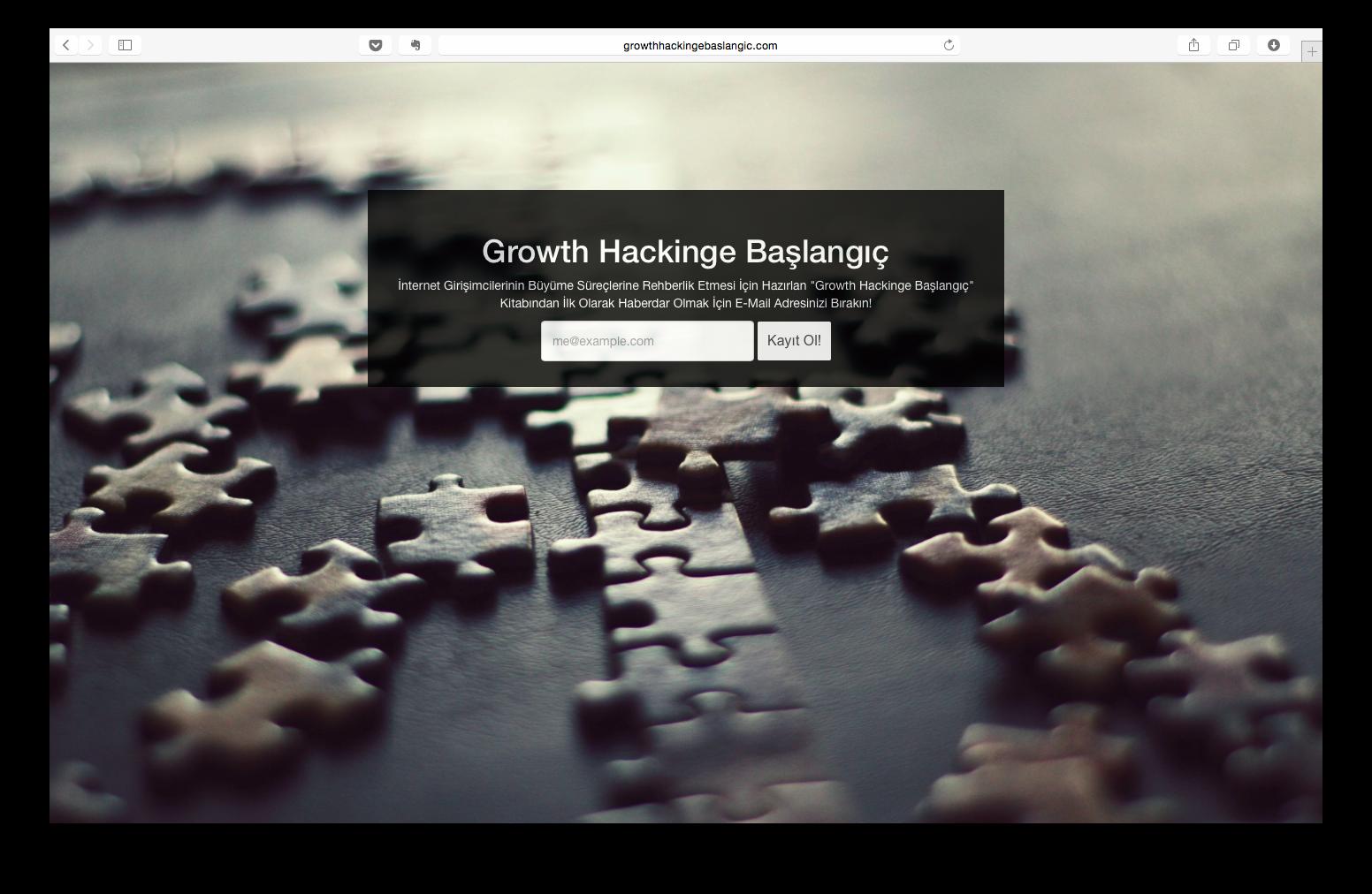 Growth Hackinge Başlangıç