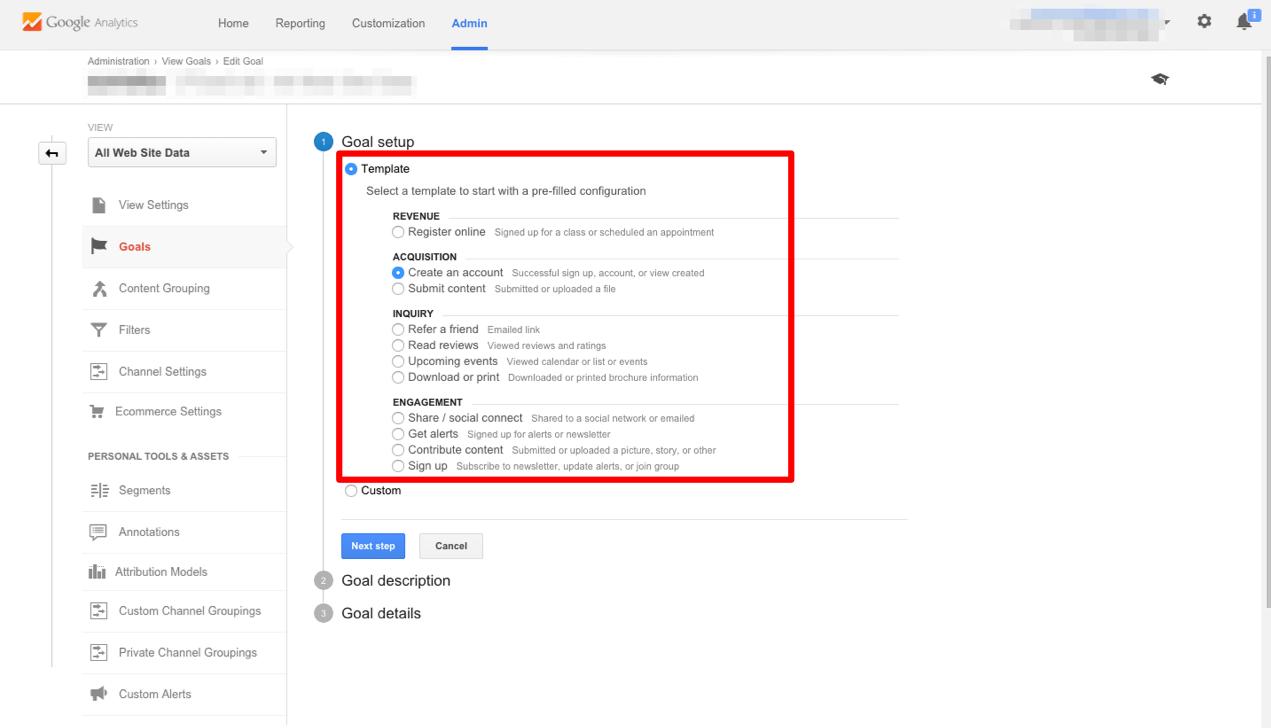 Google Analytics Goal Tanılama - 1