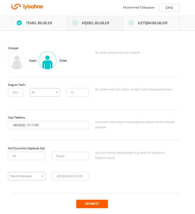iyisahne.com - profil
