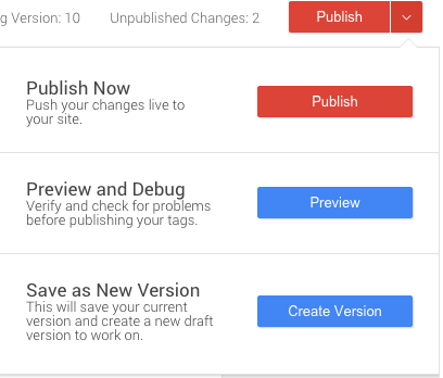 Google Tag Manager - Preview