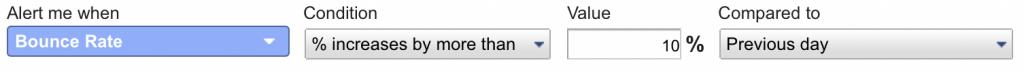 Google Analytics - Custom Alerts 1